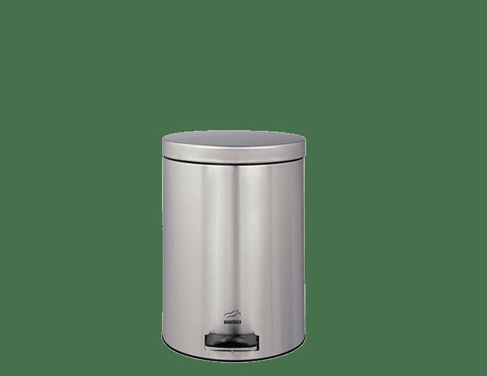 سطل زباله پدالدار 3 لیتری استیل