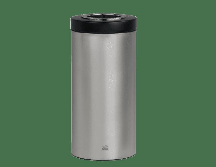 سطل زباله 45 لیتری استیل مشکی