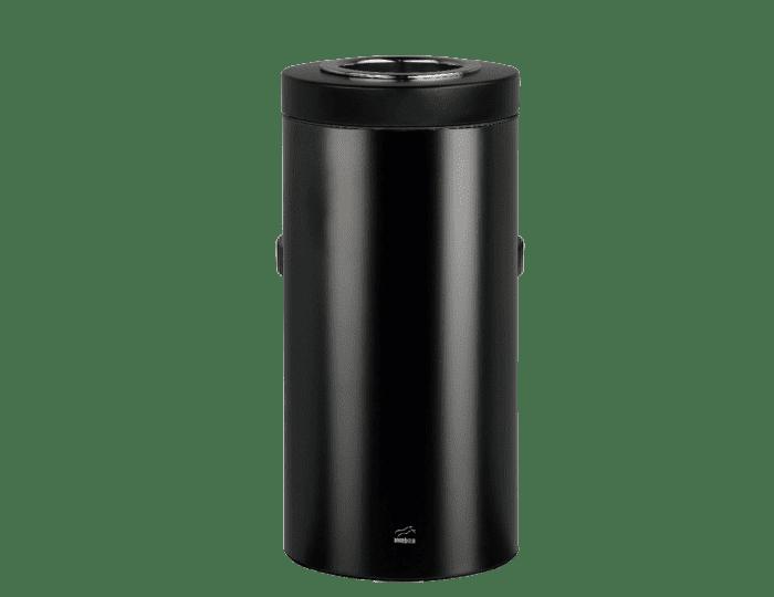 سطل زباله 45 لیتری استوانه ای مشکی