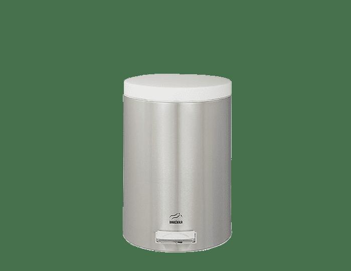 سطل زباله پدالدار 6 لیتری استیل نقره ای